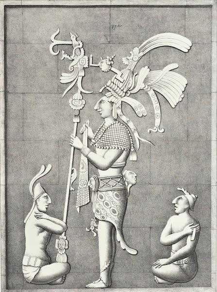 Antiquites Mexicaines - 3ème Expedition - Planche XX (1844)