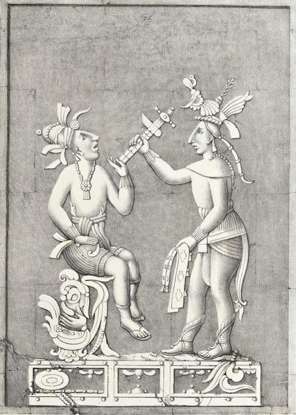 Antiquites Mexicaines - 3ème Expedition - Planche XXI (1844)