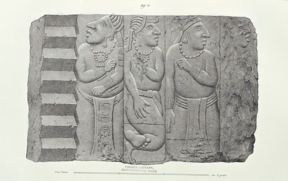 Antiquites Mexicaines - 3ème Expedition - Planche XXIV (1844)