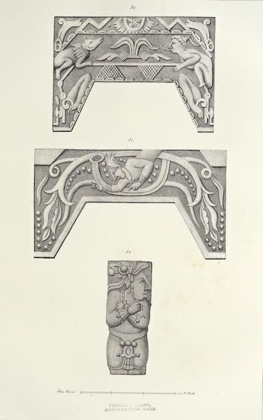 Antiquites Mexicaines - 3ème Expedition - Planche XXV (1844)