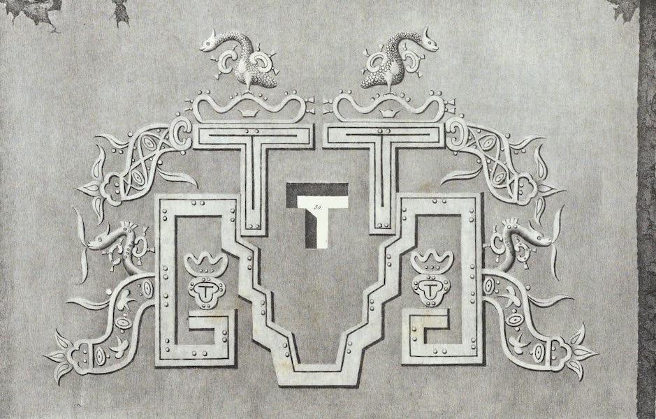Antiquites Mexicaines - 3ème Expedition - Planche XXVII (1844)