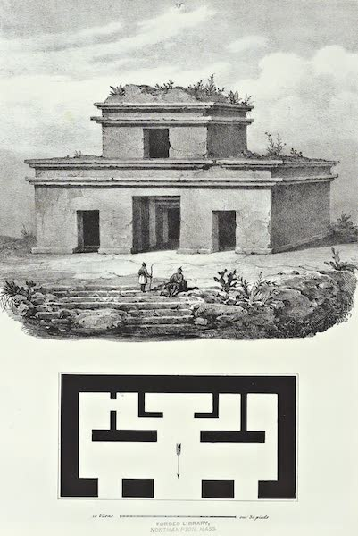 Antiquites Mexicaines - 3ème Expedition - Planche XXXXIV (1844)