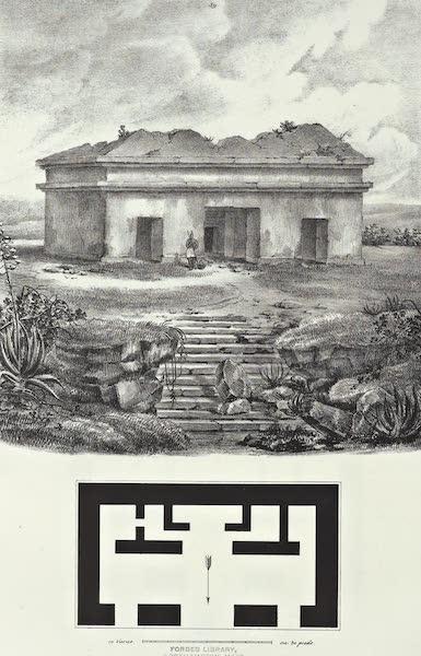 Antiquites Mexicaines - 3ème Expedition - Planche XXXXV (1844)