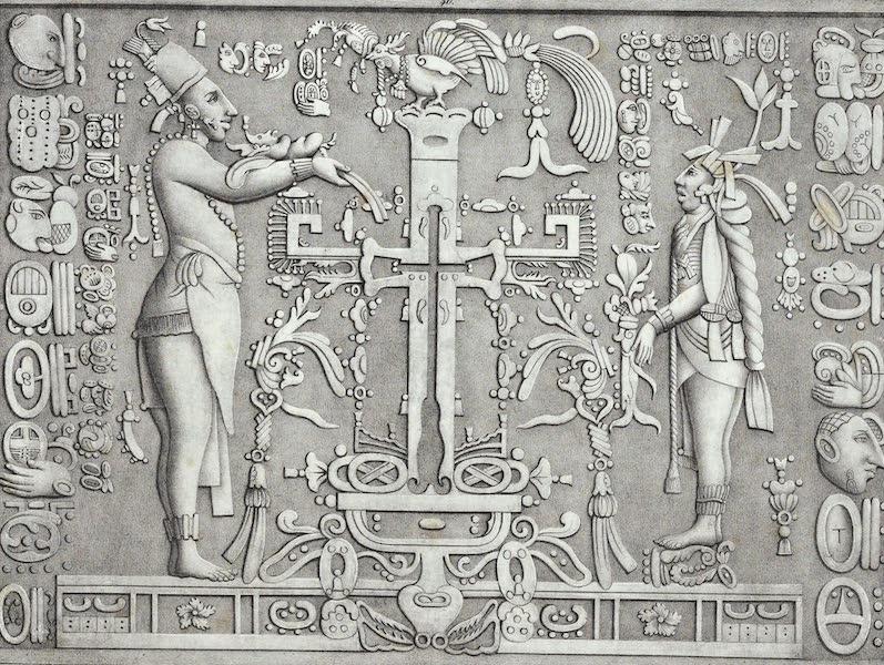 Antiquites Mexicaines - 3ème Expedition - Planche XXXXVI (1844)