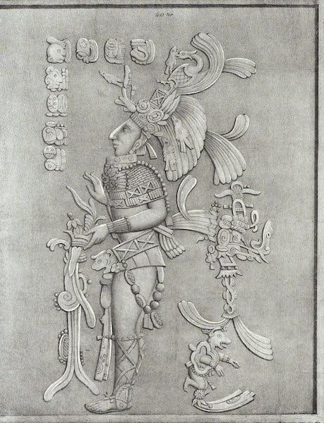 Antiquites Mexicaines - 3ème Expedition - Planche XXXXVIII (1844)