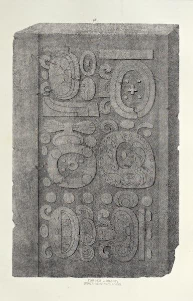 Antiquites Mexicaines - 3ème Expedition - Planche XLI (1844)