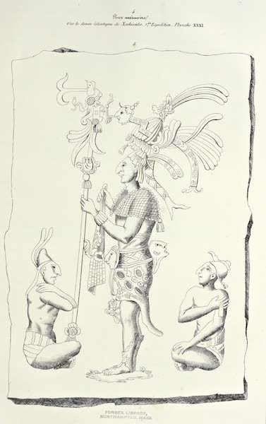 Antiquites Mexicaines - Planche Supplémentaire - III (1844)