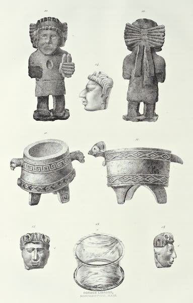 Antiquites Mexicaines - Planche Supplémentaire - VII (1844)