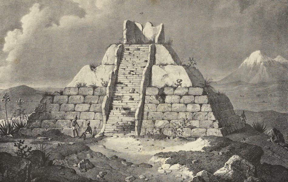 Antiquites Mexicaines - 1er Expedition - Planche XII (1844)