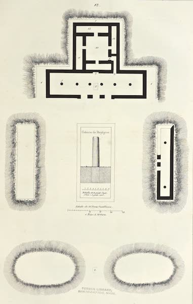 Antiquites Mexicaines - Planche Supplémentaire - VIII (1844)