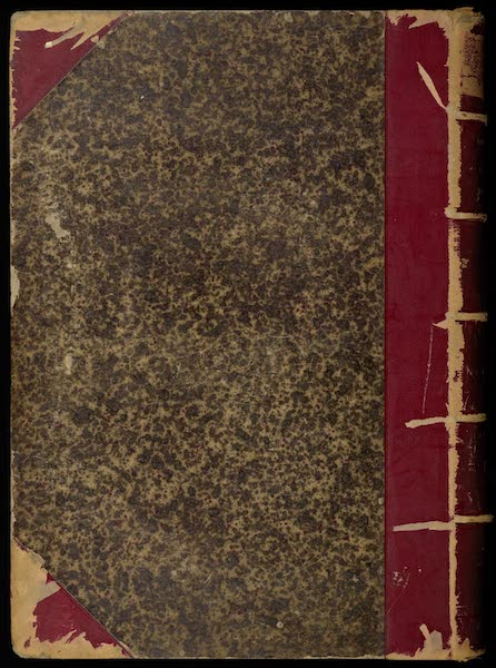 Antiquites Mexicaines - Back Cover (1844)