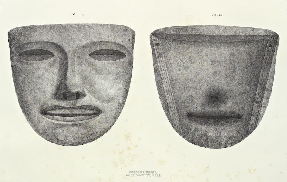 Antiquites Mexicaines - 1er Expedition - Planche XV (1844)