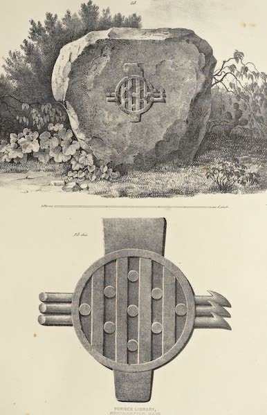 Antiquites Mexicaines - 1er Expedition - Planche XXI (1844)