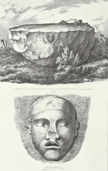 Antiquites Mexicaines - 1er Expedition - Planche XXII (1844)