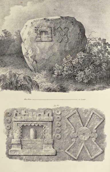Antiquites Mexicaines - 1er Expedition - Planche XXVIII (1844)