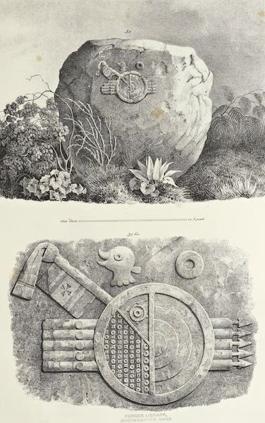 Antiquites Mexicaines - 1er Expedition - Planche XXIX (1844)