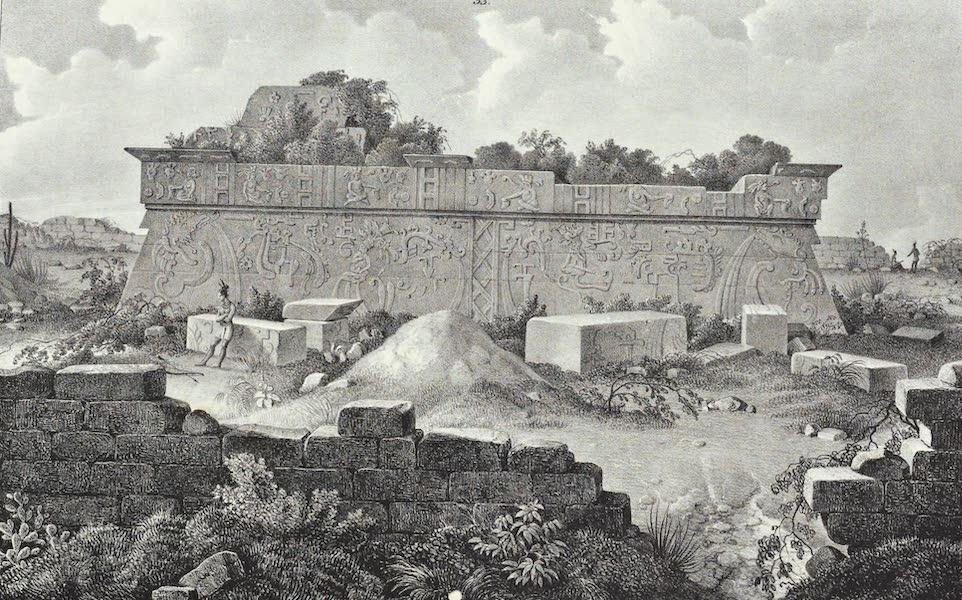 Antiquites Mexicaines - 1er Expedition - Planche XXXI (1844)