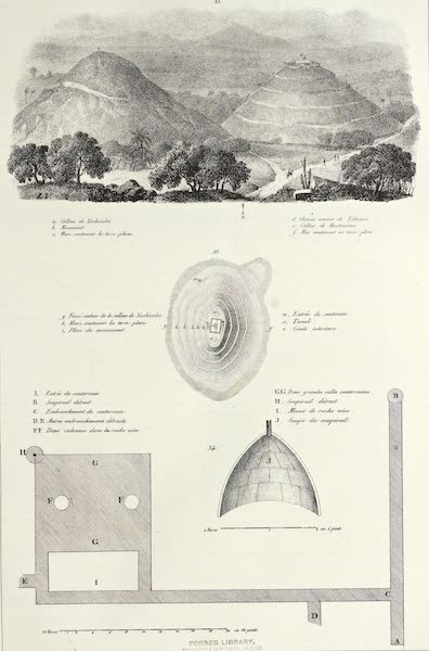 Antiquites Mexicaines - 1er Expedition - Planche XXXII (1844)