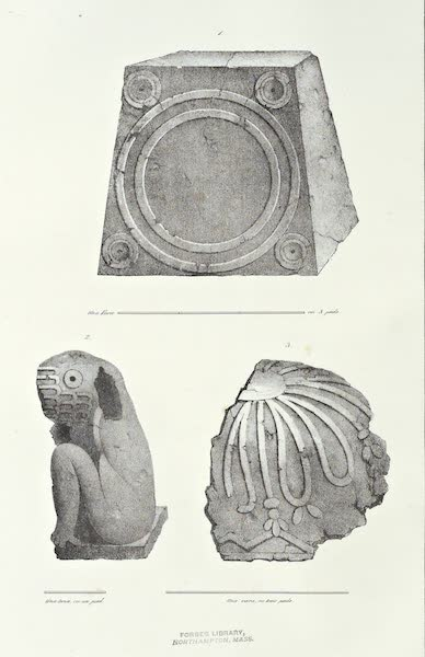 Antiquites Mexicaines - 2eme Expedition - Planche I (1844)