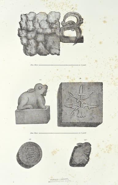 Antiquites Mexicaines - 2ème Expedition - Planche V (1844)