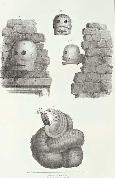 Antiquites Mexicaines - 2ème Expedition - Planche VI (1844)