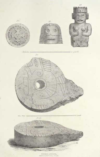 Antiquites Mexicaines - 2ème Expedition - Planche VIII (1844)