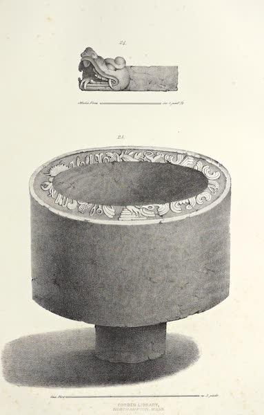 Antiquites Mexicaines - 2ème Expedition - Planche X (1844)