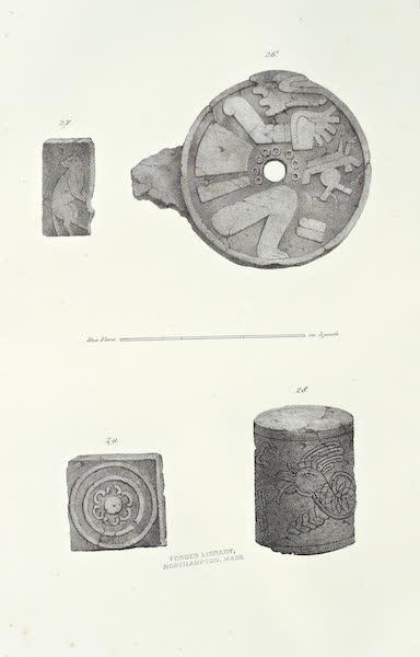 Antiquites Mexicaines - 2ème Expedition - Planche XI (1844)