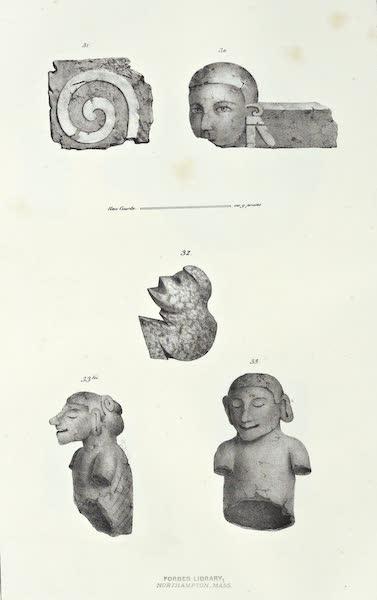 Antiquites Mexicaines - 2ème Expedition - Planche XII (1844)