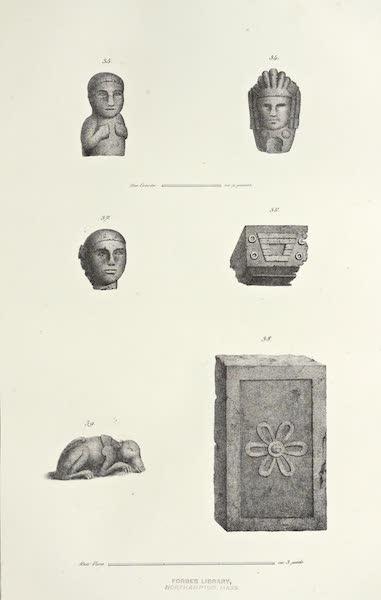Antiquites Mexicaines - 2ème Expedition - Planche XIII (1844)