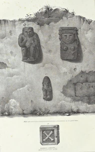 Antiquites Mexicaines - 2ème Expedition - Planche XIV (1844)