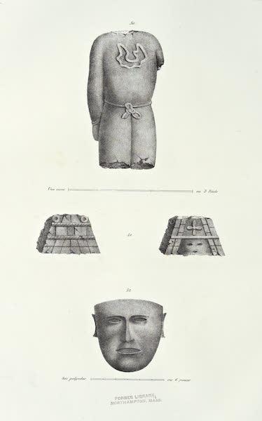 Antiquites Mexicaines - 2ème Expedition - Planche XVII (1844)
