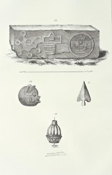 Antiquites Mexicaines - 2ème Expedition - Planche XIX (1844)