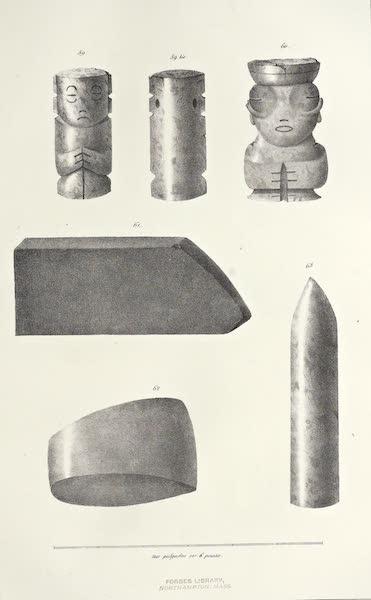 Antiquites Mexicaines - 2ème Expedition - Planche XX (1844)