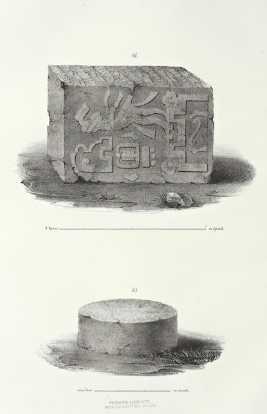 Antiquites Mexicaines - 2ème Expedition - Planche XXI (1844)