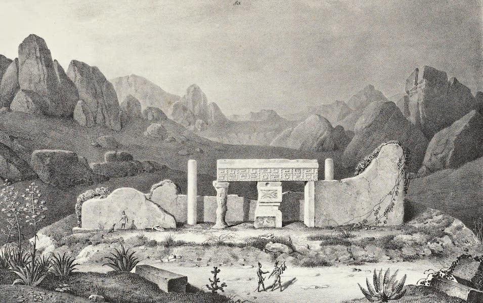 Antiquites Mexicaines - 2ème Expedition - Planche XXXI (1844)