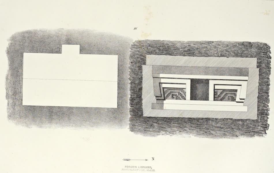 Antiquites Mexicaines - 2ème Expedition - Planche XXXIX (1844)
