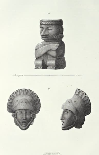 Antiquites Mexicaines - 2ème Expedition - Planche XXXXI (1844)