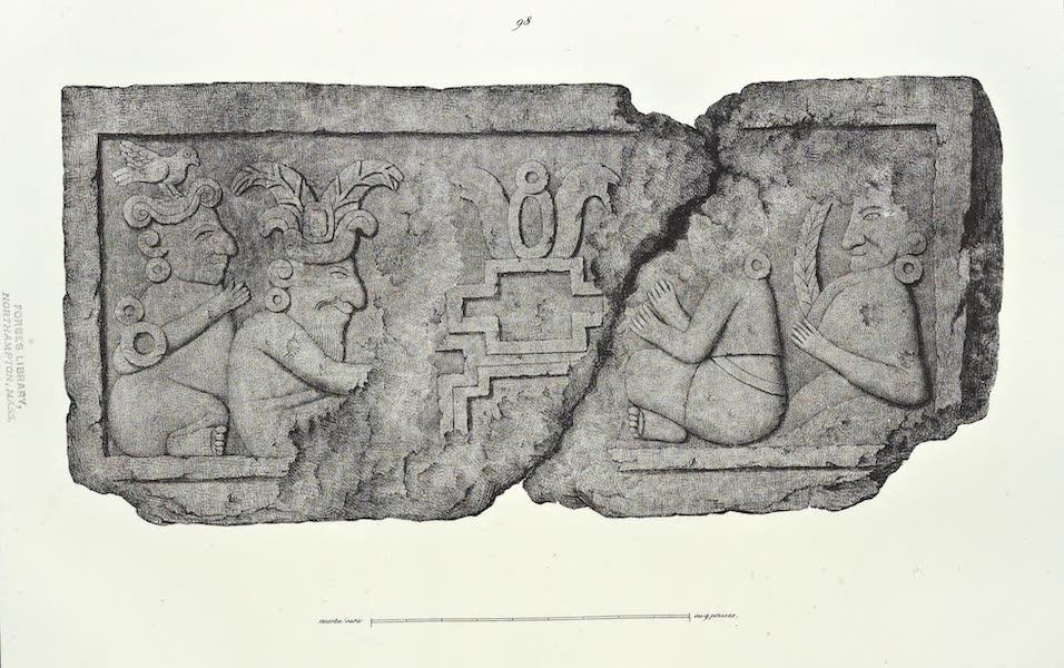 Antiquites Mexicaines - 2ème Expedition - Planche L (1844)