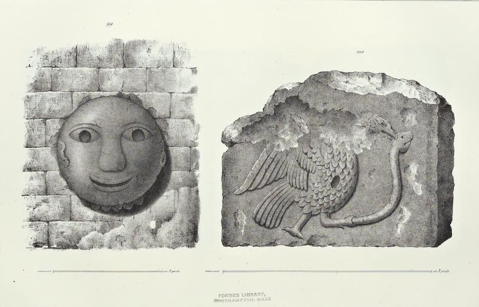 Antiquites Mexicaines - 2ème Expedition - Planche LI (1844)