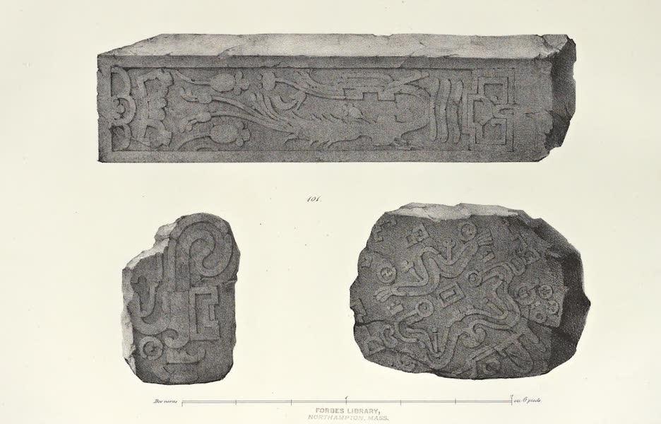 Antiquites Mexicaines - 2ème Expedition - Planche LII (1844)