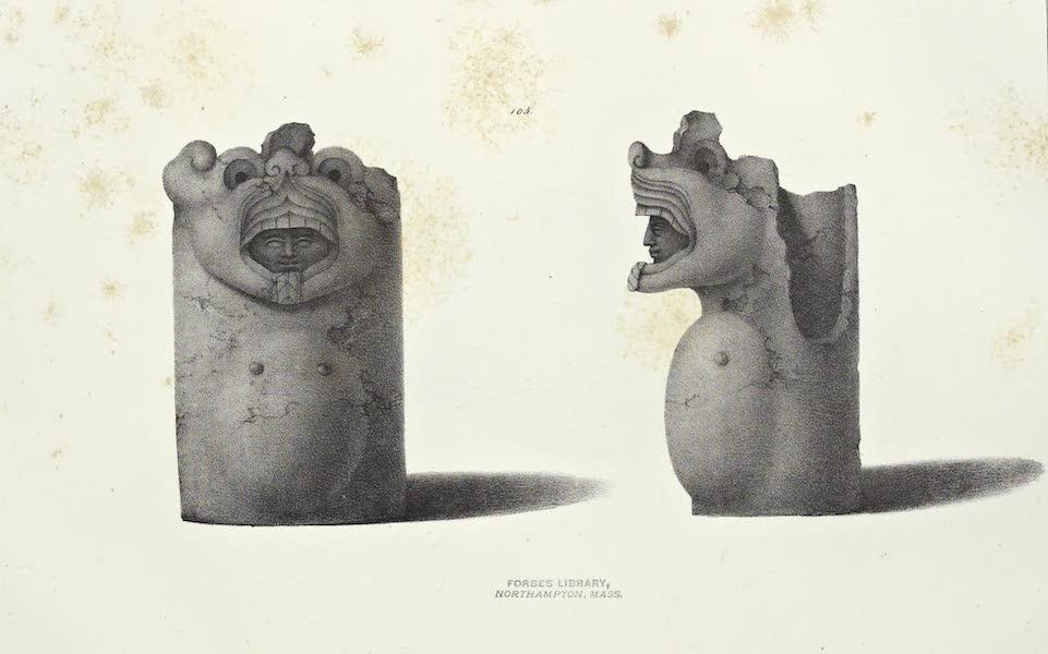 Antiquites Mexicaines - 2ème Expedition - Planche LVI (1844)
