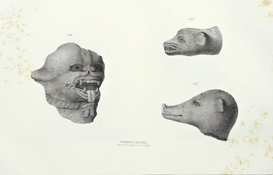 Antiquites Mexicaines - 2ème Expedition - Planche LVII (1844)