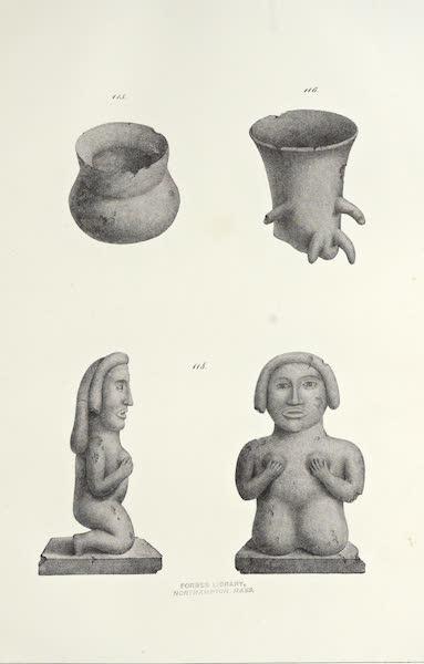 Antiquites Mexicaines - 2ème Expedition - Planche LX (1844)