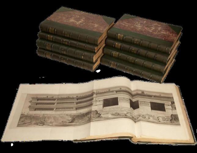 Antiquities of Mexico Vol. 6 - Book Display III (1831)