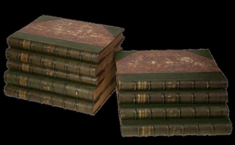 Antiquities of Mexico Vol. 8 - Book Display II (1848)