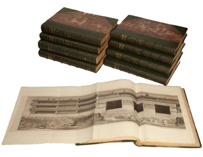 Antiquities of Mexico Vol. 8 - Book Display III (1848)