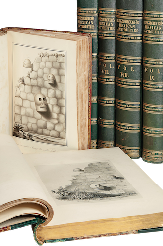 Antiquities of Mexico Vol. 9 - Book Display I (1848)