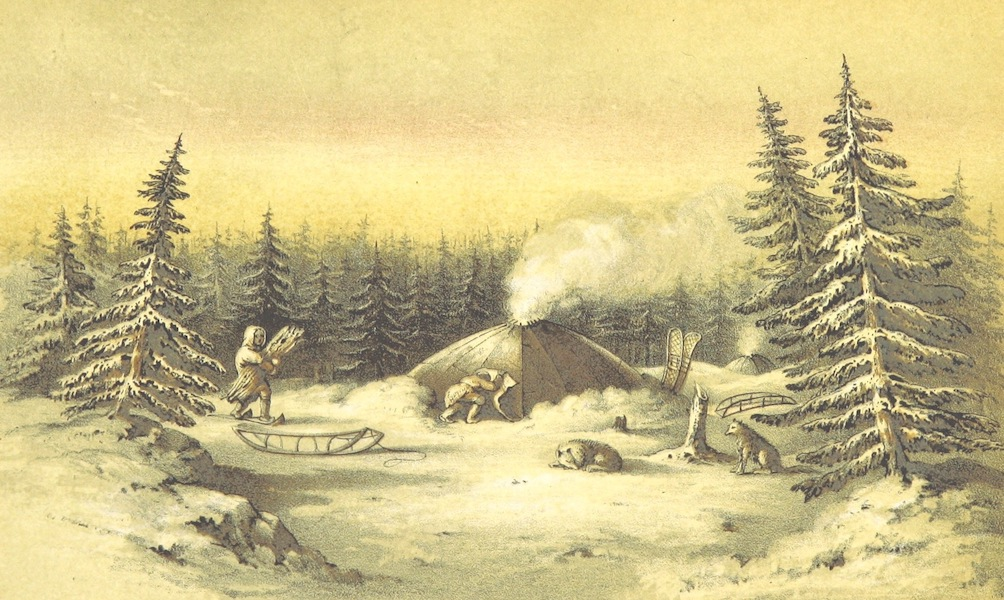 Arctic Searching Expedition Vol. 1 - Kitchen Winter Lodges (1851)