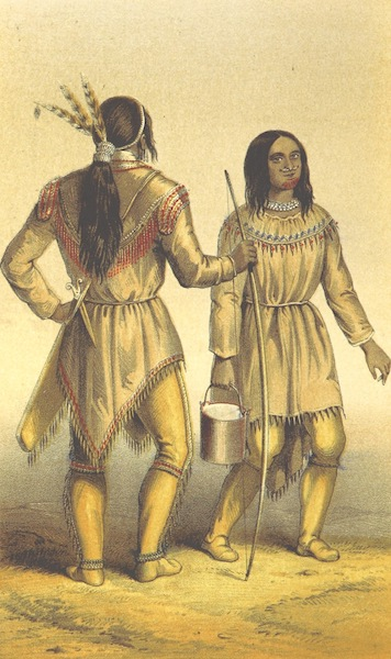 Arctic Searching Expedition Vol. 1 - Kutchin Warrior and His Wife (1851)